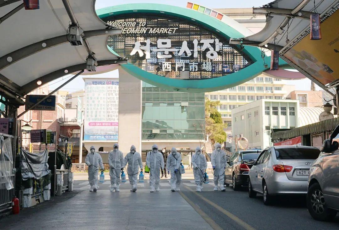 """韩国预警升至第一流!一医院精力科102人就有99人确诊,""""超"""