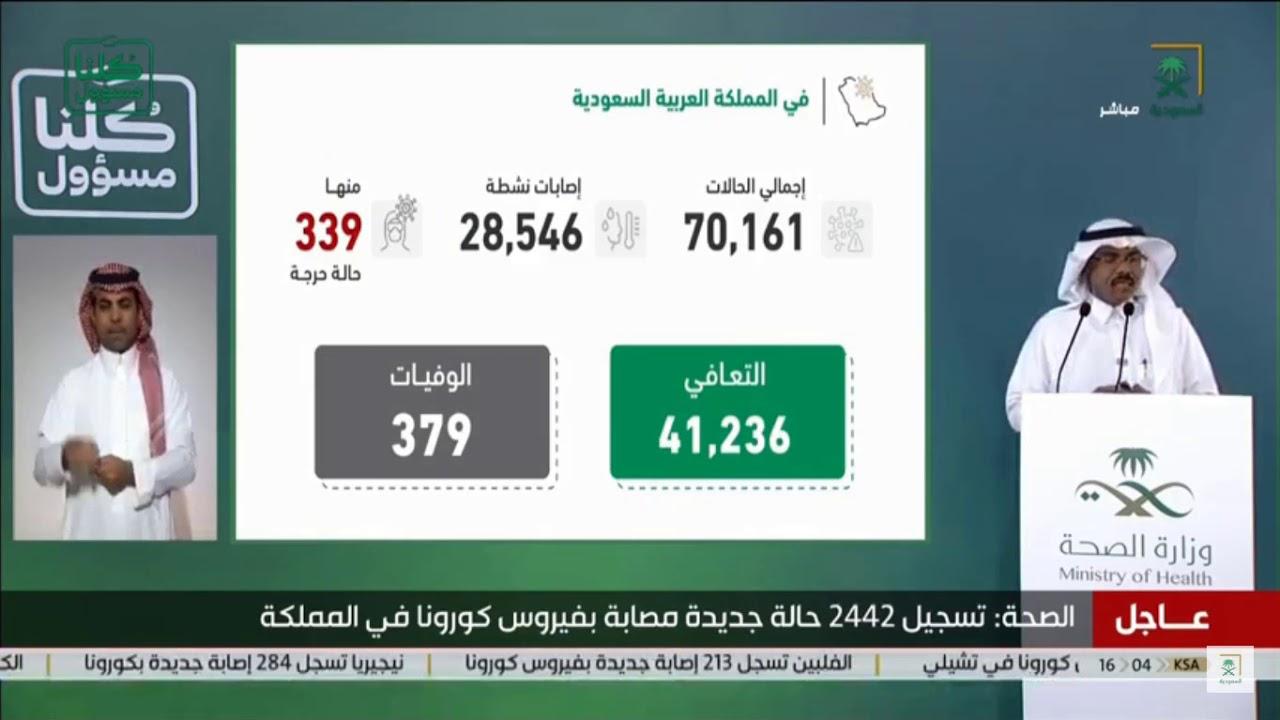 △沙特国家电视台直播截图