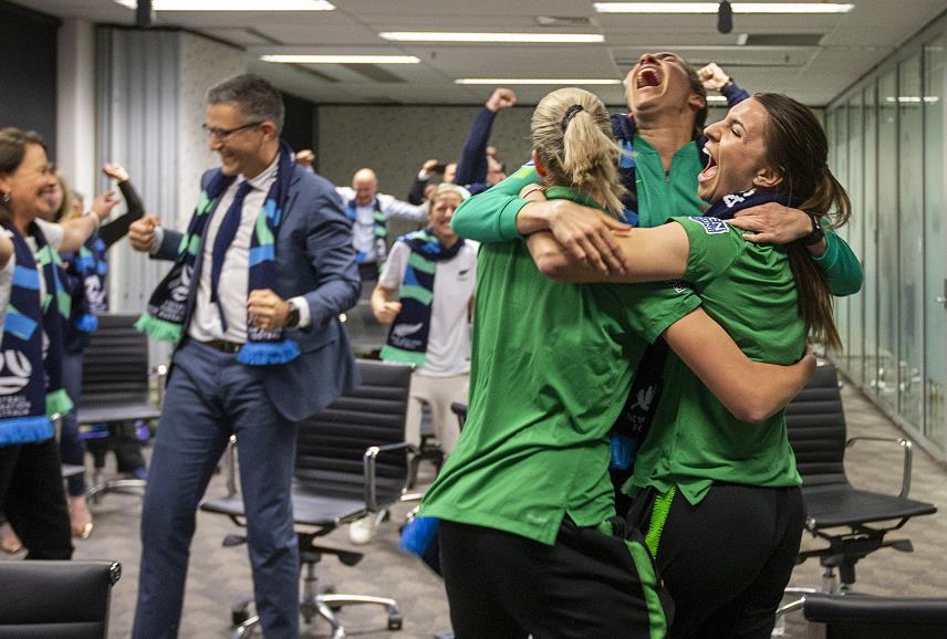 澳大利亚新西兰将合办2023年女足世界杯