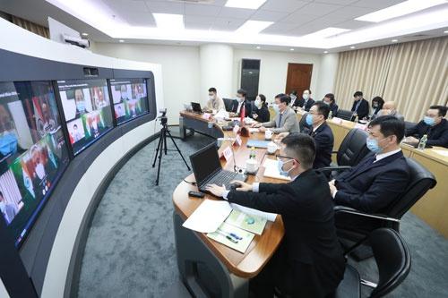 中印举办河山事务磋商和协调工作机制第16次会议集会会议