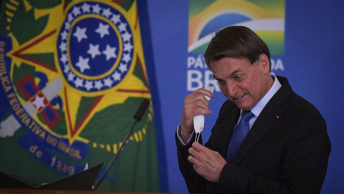 巴西总统博索纳罗新冠病毒检测结果呈阳性(图源:Getty)