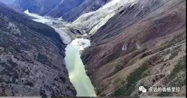 金沙江白格堰塞湖再次形成,香格里拉市通知及时做好下游防范