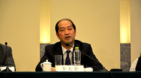 交通部水运局局长李天碧接任交通