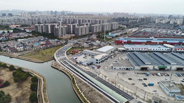 上海又有一条断头路打通,将疏解七宝