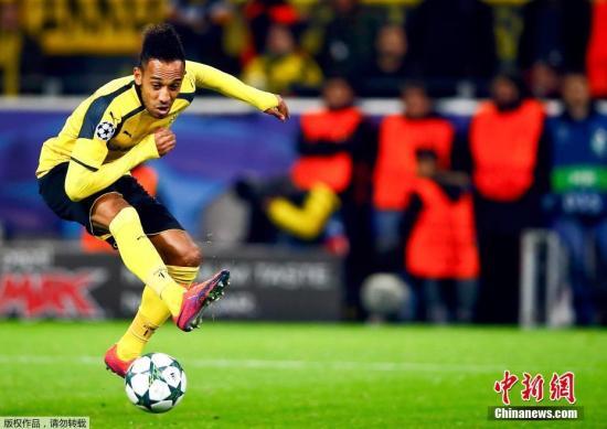 欧联杯:奥巴梅杨化身黑豹 阿森纳逆转雷恩晋级八强