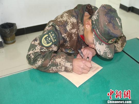"""【质量标语大全】武警部队的新年""""仪式感"""":一封家书抵万金"""