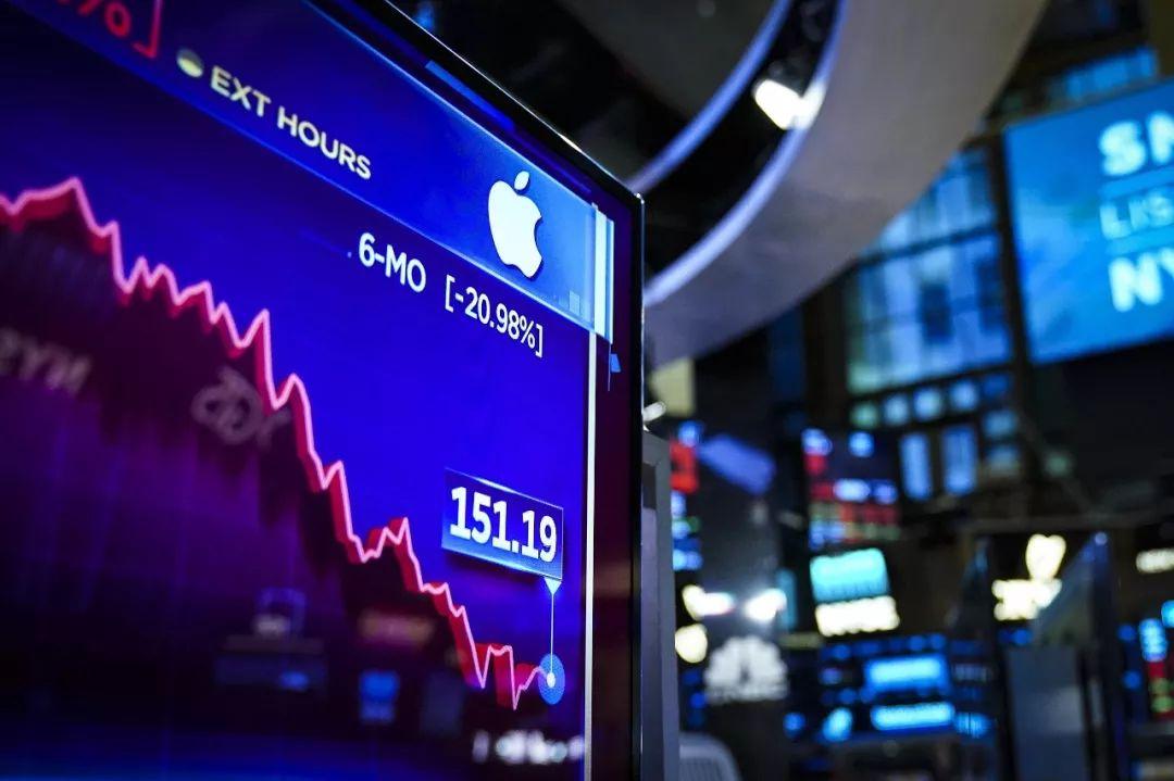 ▲当地时间2019年1月14日,纽约证券交易所。周一早上,道琼斯工业指数开盘下跌超过170点。