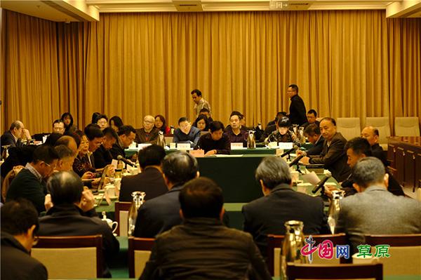 座谈会现场 中国网 图