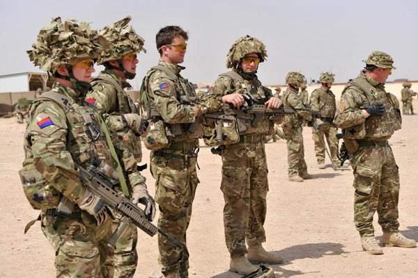 资料图:在阿富汗作战的英军。