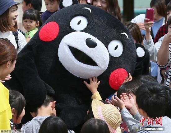 从酷MA萌到熊本熊,日熊本县吉祥物中文名正式确