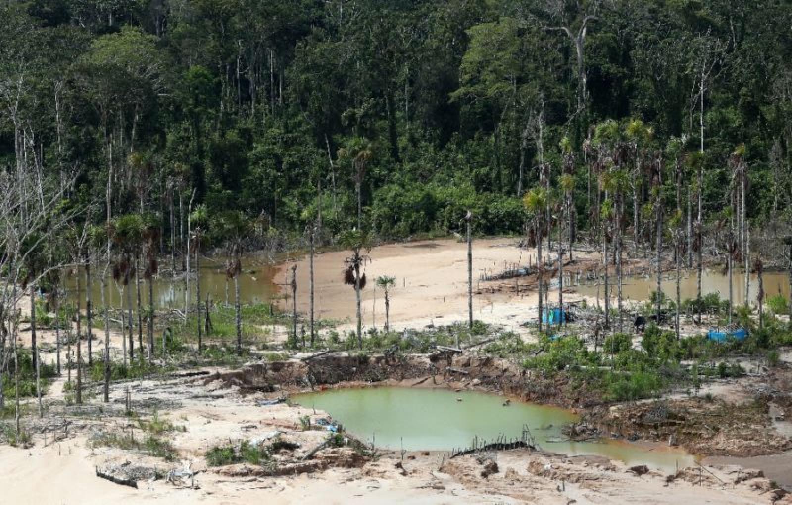 秘鲁成立亚马孙军事基地,打击非法采矿、保护原始森林