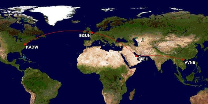 金正恩与特朗普赴越南河内路线图(图)