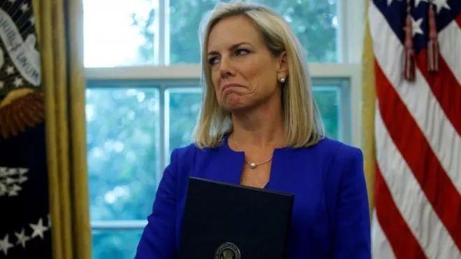美国国土安全部部长尼尔森辞职 特朗普不满在哪?