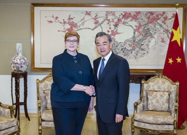 澳外长:澳中关系曾出现问题 双方