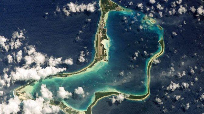 迪戈加西亚岛。