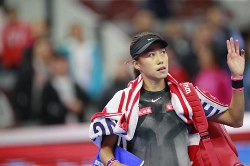 """中国网球运动员张帅获""""影响世界华人大奖"""""""