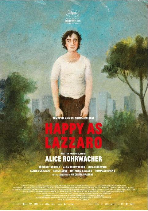 电影《幸福的拉扎罗》海报