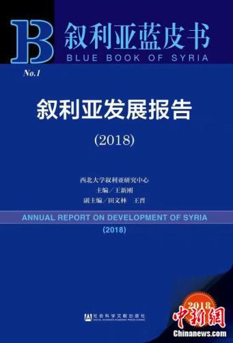 《叙利亚蓝皮书:叙利亚发展报告(2018)》