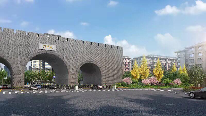 这段城市主干道综合整治施工将启用弹性围挡,最小程度减少对交通