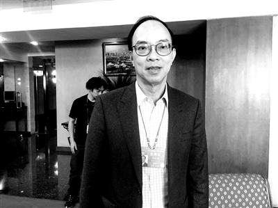 马逢国接受北青报记者采访