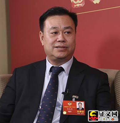 孙太利委员:完善法律法规 保护投资者资金安全