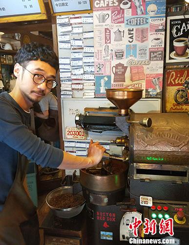 台湾写真:台北咖啡香