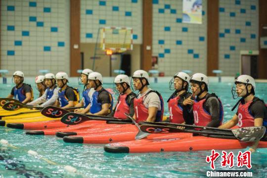 2018年全国皮艇球冠军赛贵州开赛