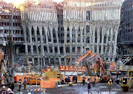 纽约世贸大厦废钢铁正销往中国和印度