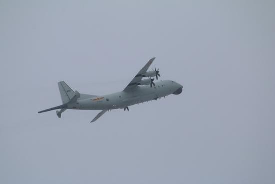 环球社评:大陆军机终究是要去台湾巡航的