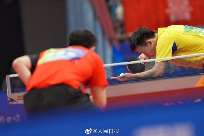 祝贺!樊振东获全运会乒乓球男单金牌