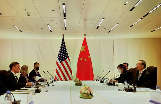 杨洁篪同美国总统国家安全事务助理沙利文举行会晤
