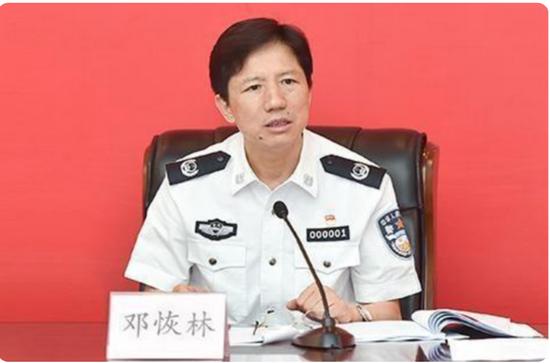 """邓恢林敛财长达21年,与多名""""警虎""""有工作联系"""