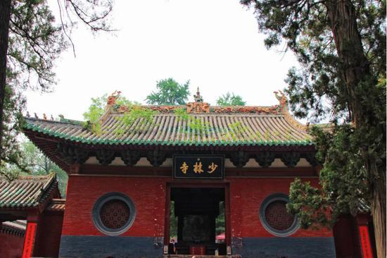 郑州登封嵩山少林寺 (图片起源:摄图网)