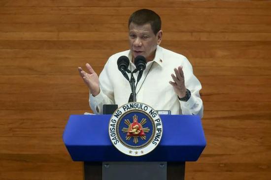 危机当前 菲律宾总统再次求助中俄