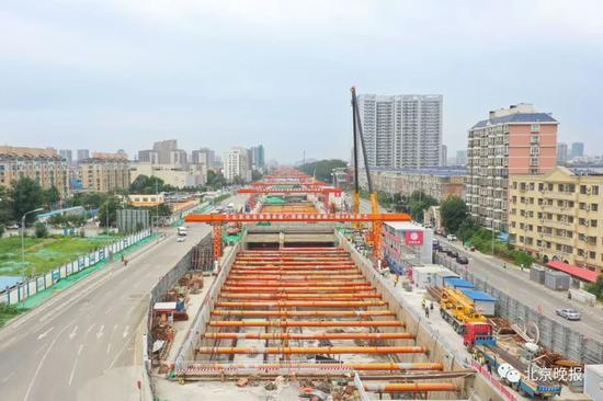 一东一西 北京这两条交通要道有新动向