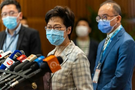 林郑月娥:香港完善选举制度后首场选举顺利举行