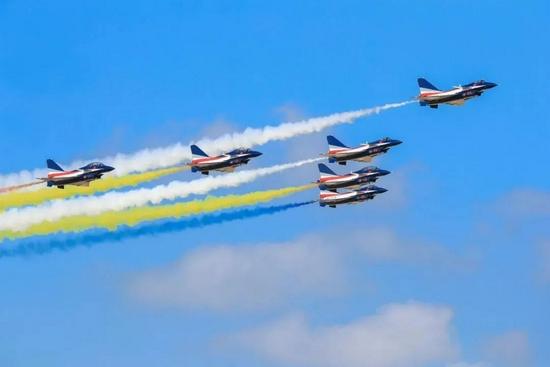官宣!中国空军公布参加第13届中国航展阵容