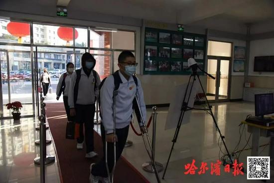 哈尔滨道里区各学校有序复课