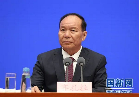 严金海任西藏自治区代主席