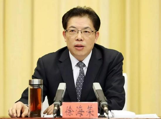 中央候补委员徐海荣履新广西