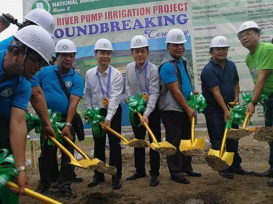 中菲合作项目在菲律宾破土动工