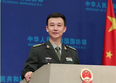 ▲国防部新闻局局长、国防部新闻发言人吴谦大校