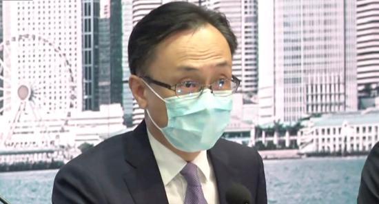 聂德权:香港14天全民检测 特区政府共花费5.3亿港元
