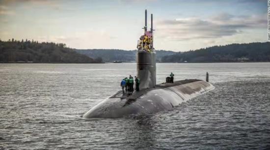 美国核潜艇南海出事 三个细节和几个秘密!