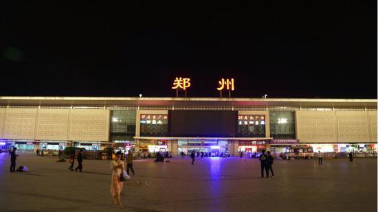 郑州火车站 (图片起源:摄图网)