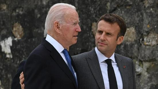 召回大使后,法国:马克龙将与拜登通话