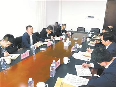 4月8日,浙江省委第三巡查组对宁波市北仑区委梭巡事情举行现场指点。陈冠军 摄