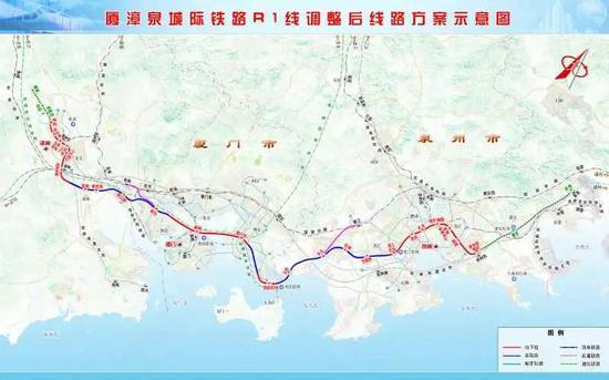 福建拟调整这3条城际铁路建设规划方案