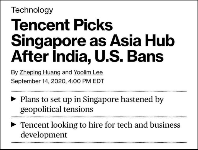 被美印拒之门外后 中国科技公司都去了这个国家