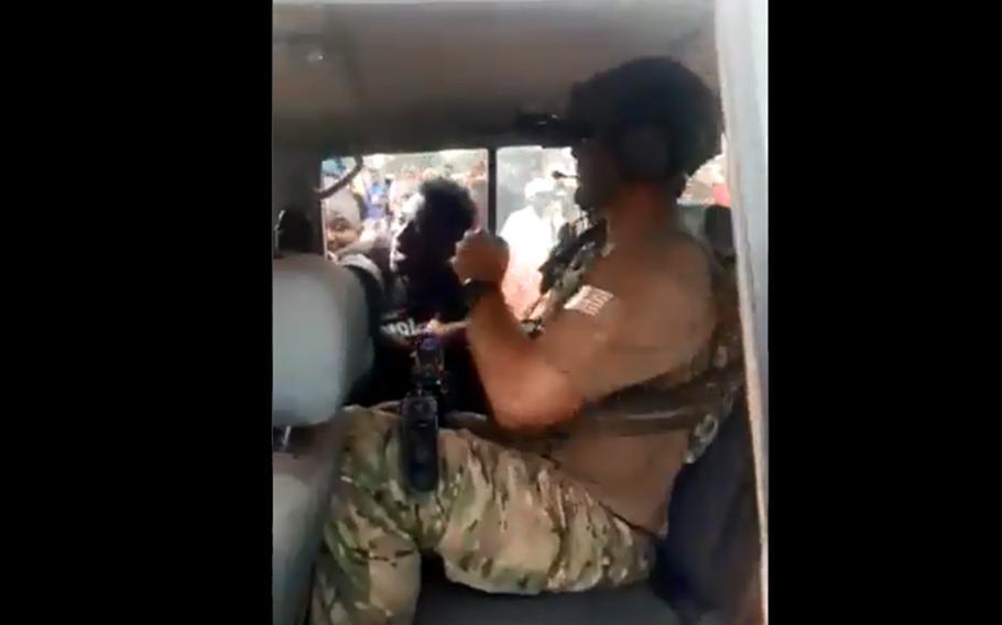 几内亚政变 果然与美军有关?